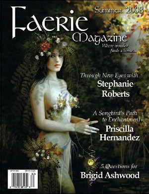 Faerie Magazine Summer 2008 Cover